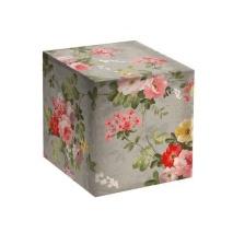 """Подарочная коробка для кружки """"ПИОНЫ-ВИНТАЖ"""""""