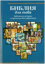 БИБЛИЯ ДЛЯ ТЕБЯ. Библейские истории в картинках для подростков