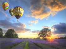 "КАРТИНА ПО НОМЕРАМ PAINTBOY ""Полет на воздушном шаре"" /40х50/"