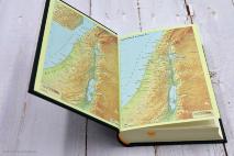 БИБЛИЯ 043 DC Зеленая, неканоническая, синодальный перевод, твердый переплет, закладка /120х165/