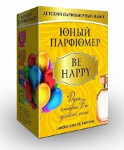 """Набор Юный парфюмер от Master IQ """"BE HAPPY"""""""