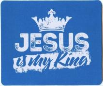 КОВРИК ДЛЯ МЫШИ: Jesus is my King
