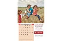 Перекидной календарь 2022: Заповеди для родителей
