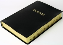 БИБЛИЯ 085 TI Черная, индексы, черно/серый футляр /250х300/